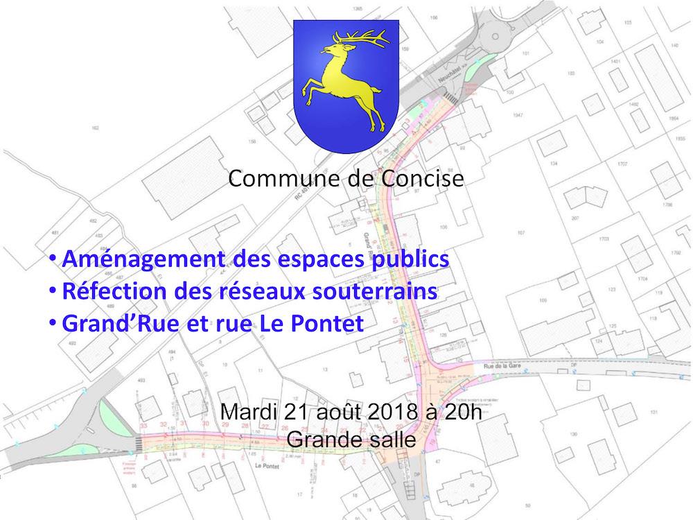 r 2463 Perret Gentil. Séparatif. Grand rue Le Pontet. Présentation 21.08.18 Page 01