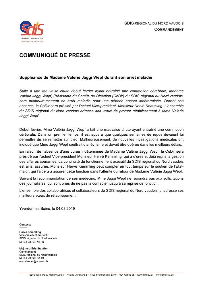 r 3411 SDIS. Avis. Suppléance Valérie Jaggi Wepf. site